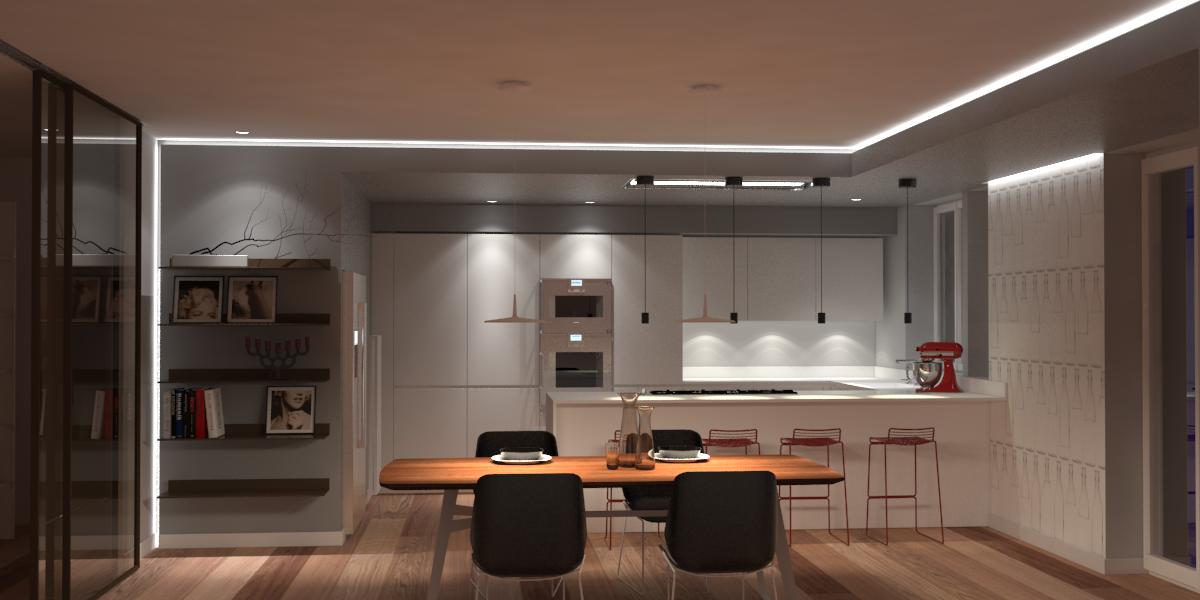 Tagli di luce soffitto vovell pedana doccia legno riciclo - Luce per cucina ...