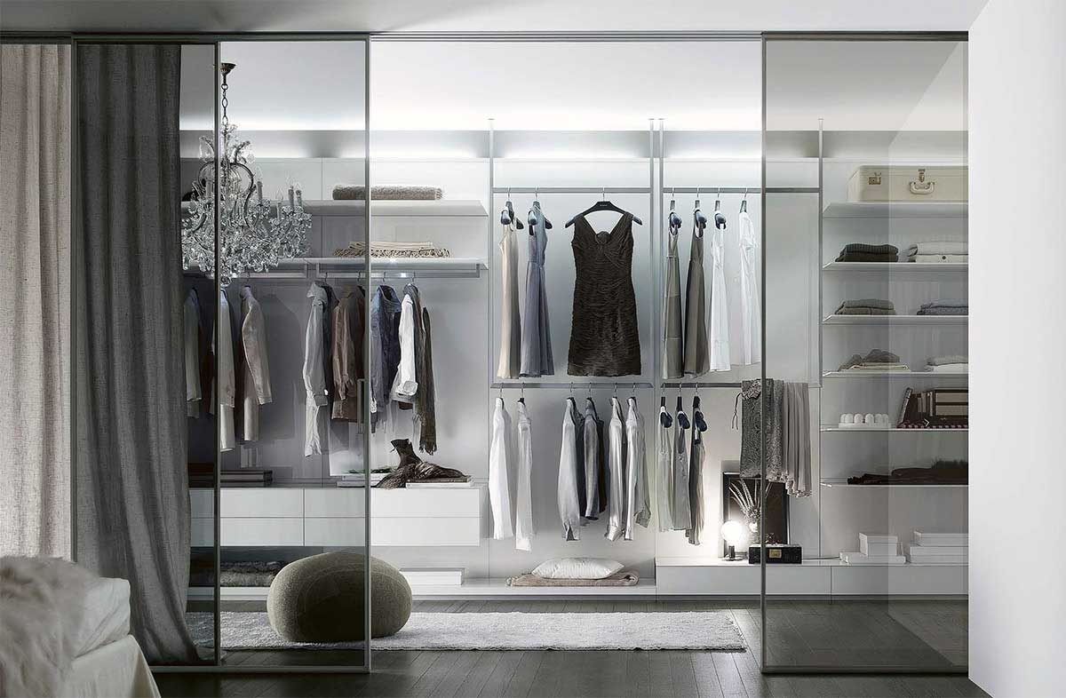 Walk-in closet Close - Poliform