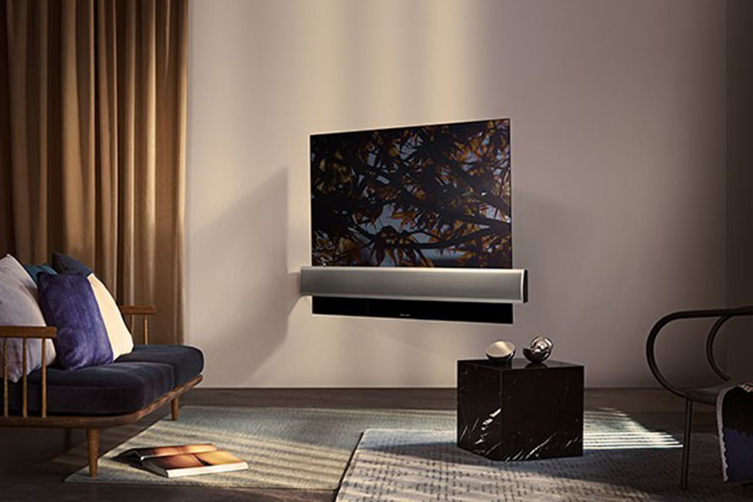 Speakers Beoplay S8, tv Beovision 11 -  Bang&Olufsen