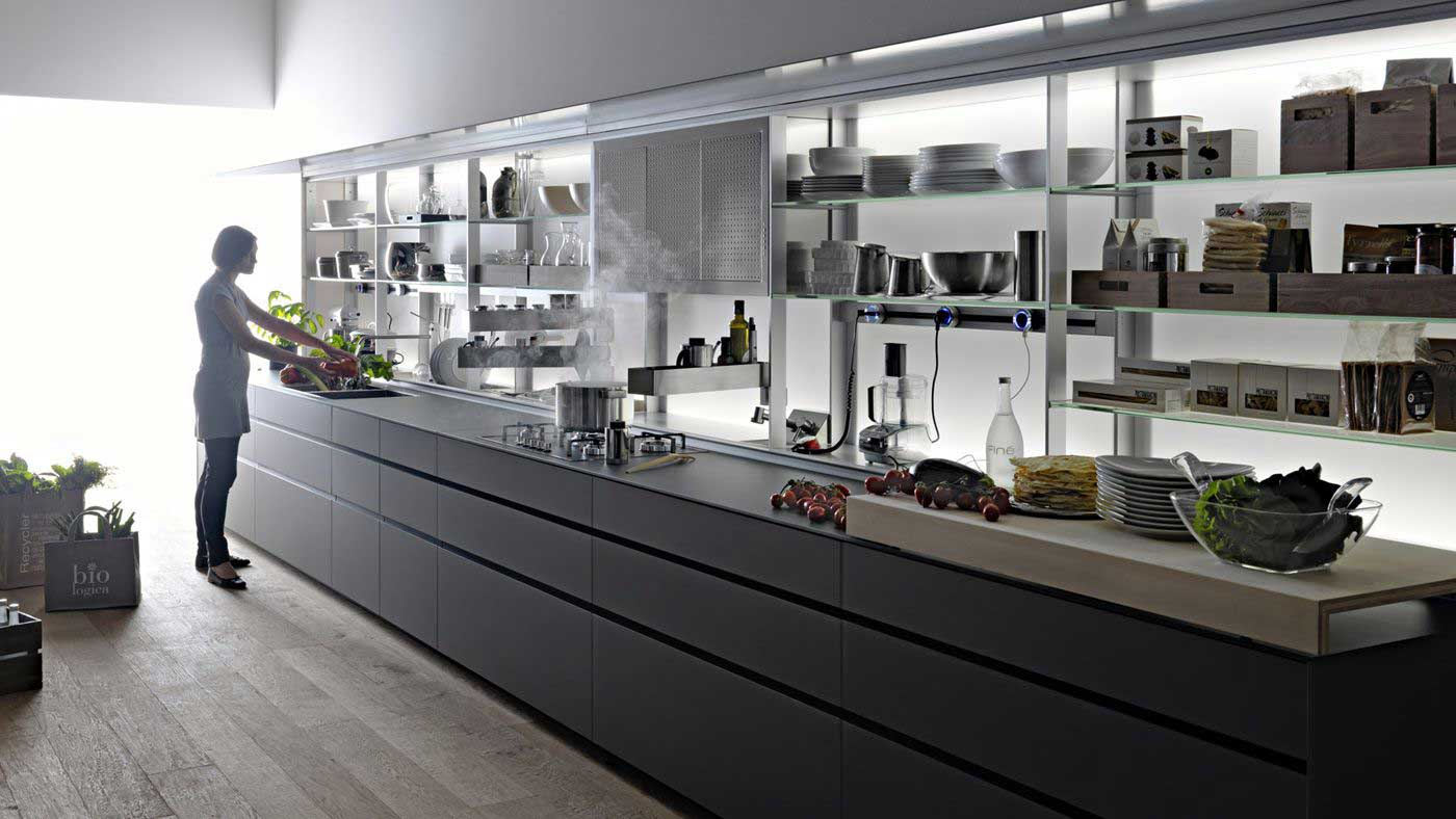Kitchen collection Case System - Boffi