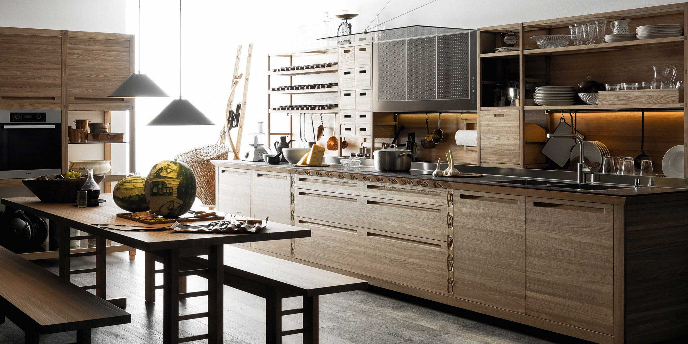 Kitchen collection Spatia - Arclinea